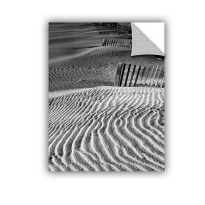 Brushstone Dune Patterns Removable Wall Decal