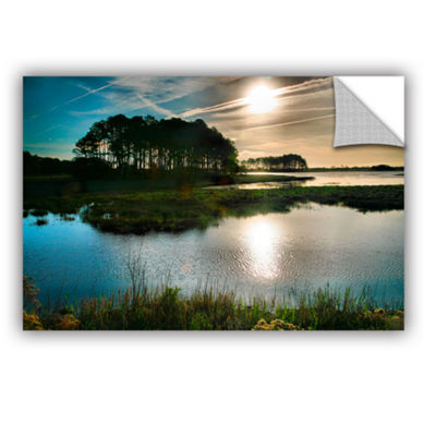 Brushstone Early Morning on Beach Drive I Removable Wall Decal