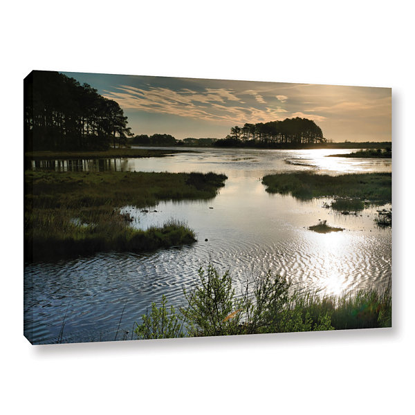 Brushstone Early Morning on Beach Drive II GalleryWrapped Canvas Wall Art