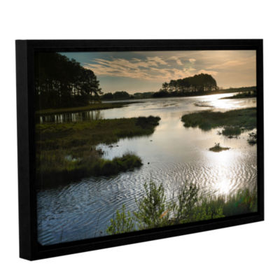 Brushstone Early Morning on Beach Drive II GalleryWrapped Floater-Framed Canvas Wall Art