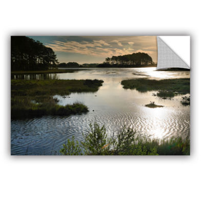 Brushstone Early Morning on Beach Drive II Removable Wall Decal