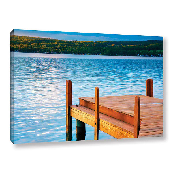 Brushstone End of Summer Gallery Wrapped Canvas Wall Art