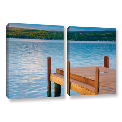 Brushstone End of Summer II 2-pc. Gallery WrappedCanvas Wall Art
