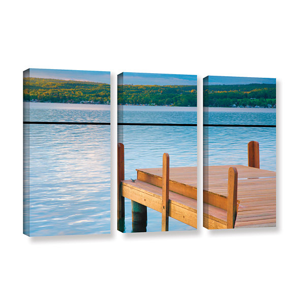 Brushstone End of Summer II 3-pc. Gallery WrappedCanvas Wall Art