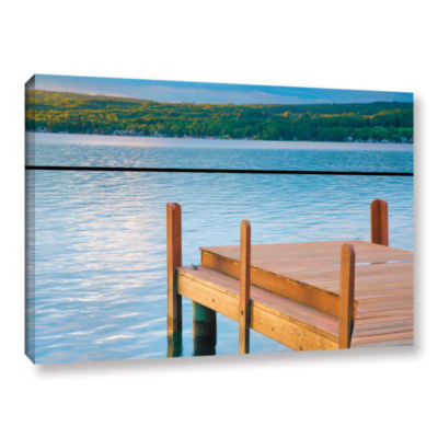 Brushstone End of Summer II Gallery Wrapped CanvasWall Art