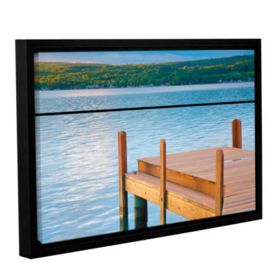 Brushstone End of Summer II Gallery Wrapped Floater-Framed Canvas Wall Art