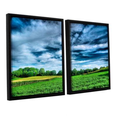 Brushstone Field of Dreams 2-pc. Floater Framed Canvas Wall Art