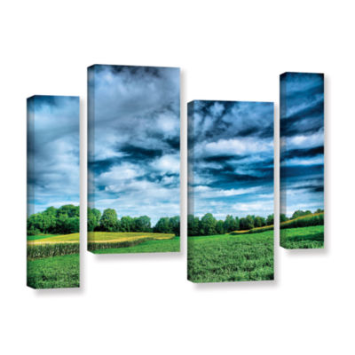 Brushstone Field of Dreams 4-pc. Gallery Wrapped Staggered Canvas Wall Art