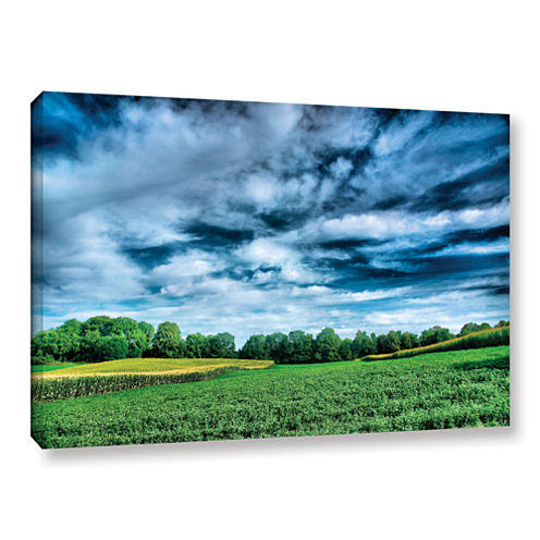 Brushstone Field of Dreams Gallery Wrapped CanvasWall Art