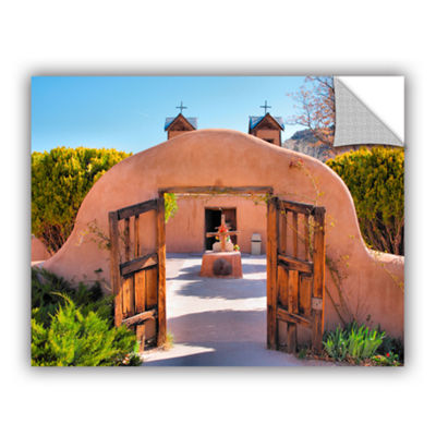 Brushstone Gate to Chimayo Removable Wall Decal
