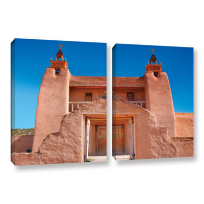 Brushstone Gate to San Jose De Garci 2-pc. GalleryWrapped Canvas Wall Art