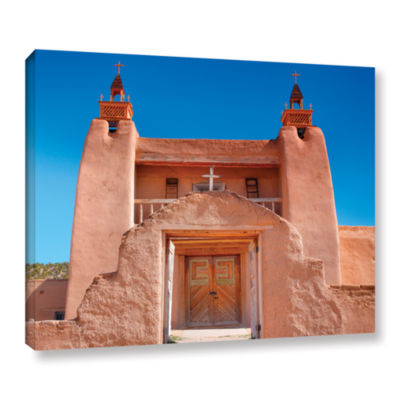 Brushstone Gate to San Jose De Garci Gallery Wrapped Canvas Wall Art