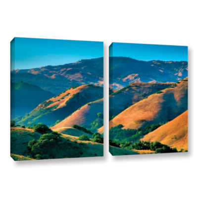 Brushstone Golden Hills 2-pc. Gallery Wrapped Canvas Wall Art