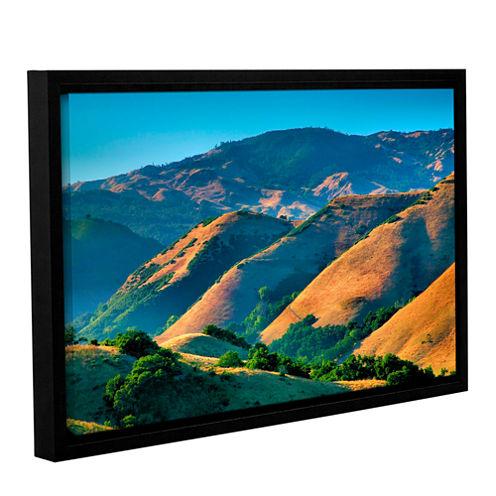 Brushstone Golden Hills Gallery Wrapped Floater-Framed Canvas Wall Art