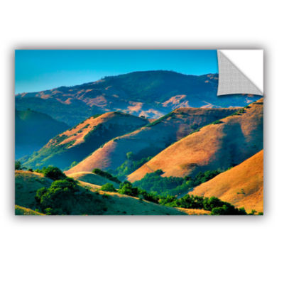 Brushstone Golden Hills Removable Wall Decal