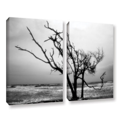 Brushstone Hanging On 2-pc. Gallery Wrapped CanvasWall Art