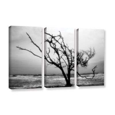 Brushstone Hanging On 3-pc. Gallery Wrapped CanvasWall Art
