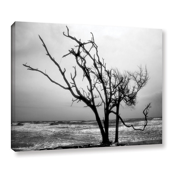 Brushstone Hanging On Gallery Wrapped Canvas WallArt
