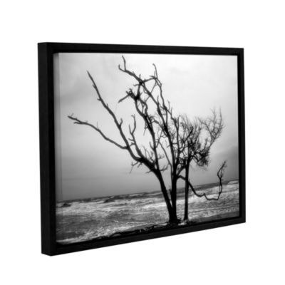 Brushstone Hanging On Gallery Wrapped Floater-Framed Canvas Wall Art