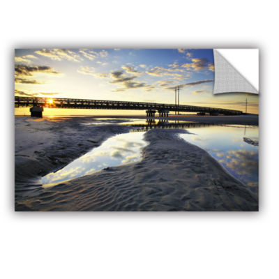 Brushstone Hatteras Pools and Bridge Removable Wall Decal