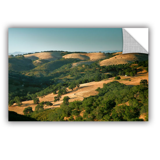 Brushstone Hills of California Removable Wall Decal