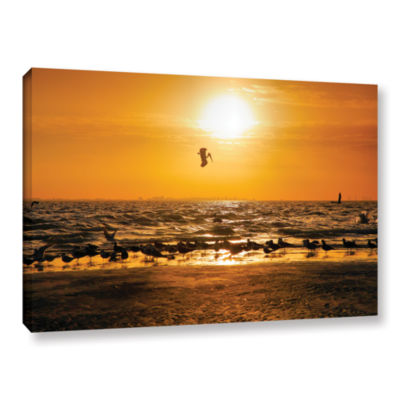 Brushstone In for the Landing Gallery Wrapped Canvas Wall Art