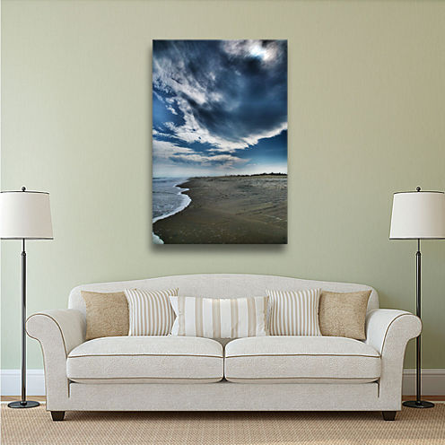 Brushstone In the Distance Gallery Wrapped CanvasWall Art