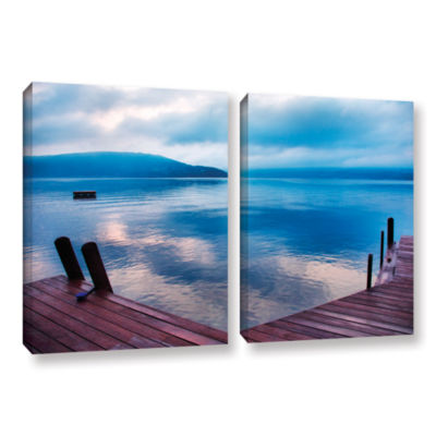 Brushstone Interlude Filtered 2-pc. Gallery Wrapped Canvas Wall Art