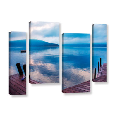 Brushstone Interlude Filtered 4-pc. Gallery Wrapped Staggered Canvas Wall Art