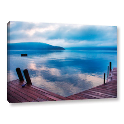Brushstone Interlude Filtered Gallery Wrapped Canvas Wall Art