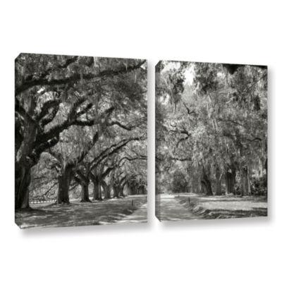 Brushstone Live Oak Avenue 2-pc. Gallery Wrapped Canvas Wall Art