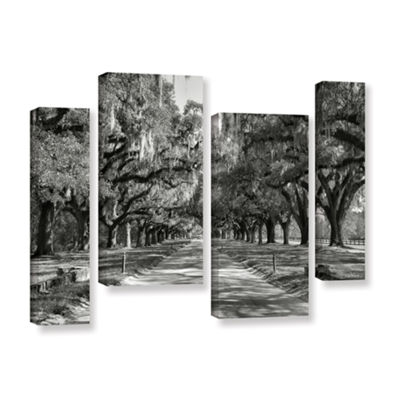 Brushstone Live Oak Avenue II 4-pc. Gallery Wrapped Staggered Canvas Wall Art