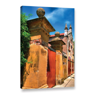 Brushstone Meeting Street Gate 1 Gallery Wrapped Canvas Wall Art