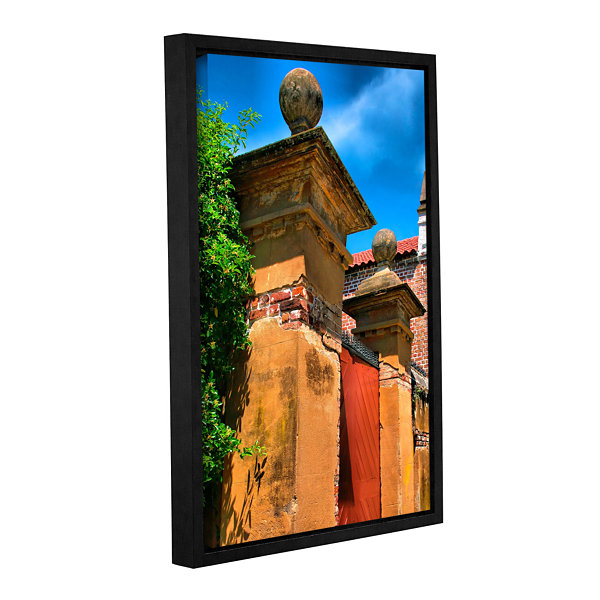 Brushstone Meeting Street Gate 1 Gallery Wrapped Floater-Framed Canvas Wall Art
