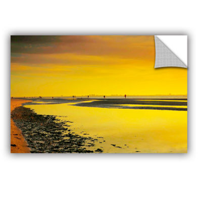 Brushstone Mellow Yellow Morning Removable Wall Decal
