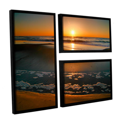 Brushstone Morning Has Broken 3-pc. Flag Floater Framed Canvas Wall Art