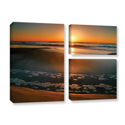 Brushstone Morning Has Broken 3-pc. Flag Gallery Wrapped Canvas Wall Art