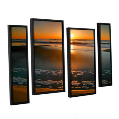 Brushstone Morning Has Broken 4-pc. Floater Framed Staggered Canvas Wall Art