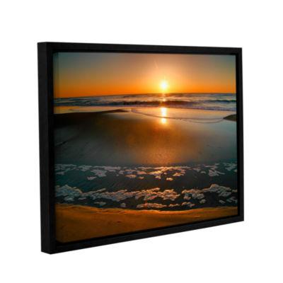Brushstone Morning Has Broken Gallery Wrapped Floater-Framed Canvas Wall Art
