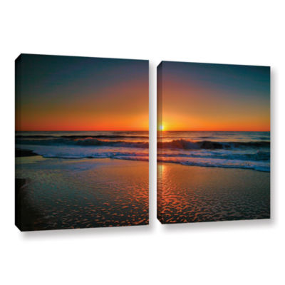Brushstone Morning Has Broken II 2-pc. Gallery Wrapped Canvas Wall Art