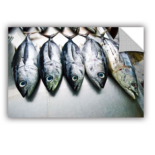 Brushstone Fish Market Removable Wall Decal