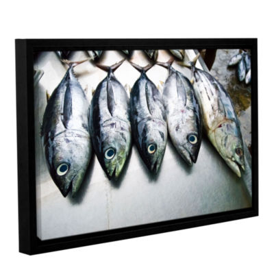 Brushstone Fish Market Gallery Wrapped Floater-Framed Canvas Wall Art