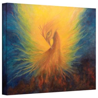 Brushstone Firebird Gallery Wrapped Canvas Wall Art