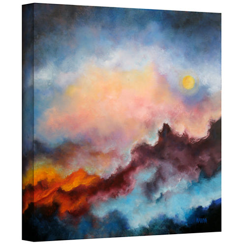 Brushstone Fire On The Mountain Gallery Wrapped Canvas Wall Art