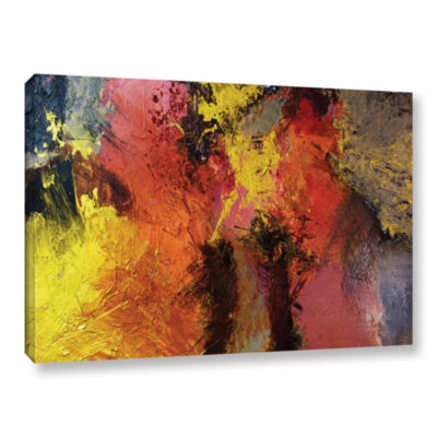 Brushstone Fire And Brimstone Gallery Wrapped Canvas Wall Art