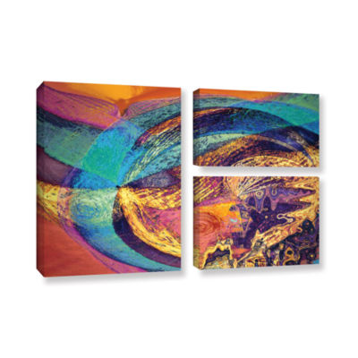 Brushstone Fiesta 3-pc. Flag Gallery Wrapped Canvas Wall Art
