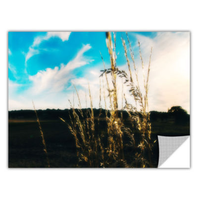 Brushstone Field Removable Wall Decal