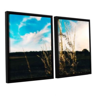 Brushstone Field 2-pc. Floater Framed Canvas WallArt