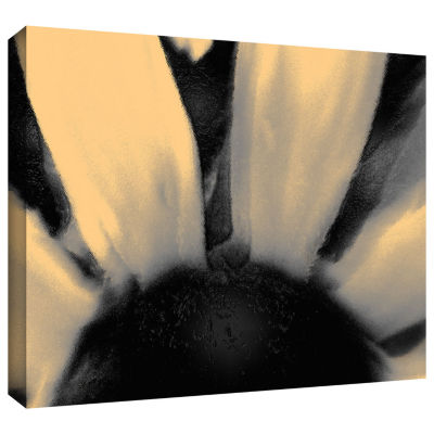 Brushstone Faux Floral Gallery Wrapped Canvas WallArt