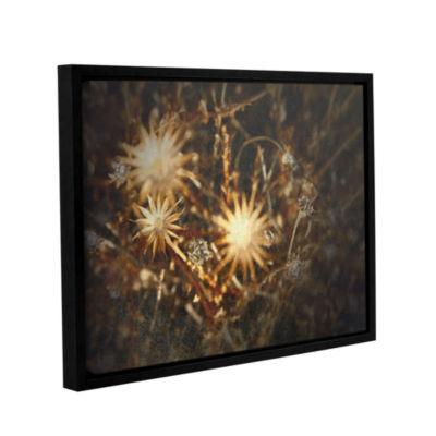Brushstone Falling Towards Stars Gallery Wrapped Floater-Framed Canvas Wall Art